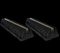 Bodenkonsole / Aufstellblock – Gummi Fuß 120cm länge